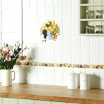 kitchen tiles fruit design